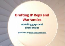 Drafting IP Reps and Warranties
